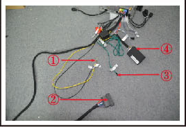 make the cables connected in the package