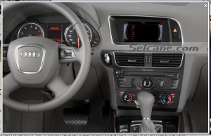 new dashboard after installation,bluetooth gps radio of 2008-2013 Audi Q5