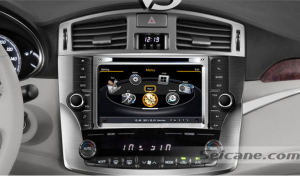 aftermarket radio stereo dvd gps with sat nav system of 2011 2012 Toyota Avalon