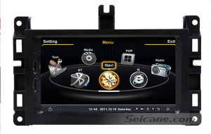 head unit car stereo radio gps dvd with nav system of 2014 Jeep Grand Cherokee