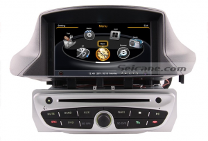 new stereo dvd with gps navigation bluetooth of 2010 2011 Renault Megane