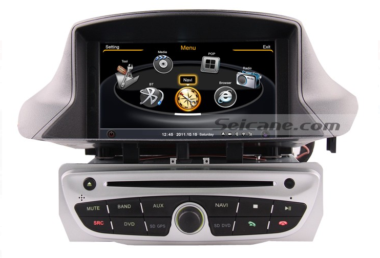 specific upgrade guide for 2010 2011 renault megane head unit double din stereo radio car. Black Bedroom Furniture Sets. Home Design Ideas