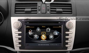 car stereo radio after installation,aftermarket dvd gps navigation with bluetooth music of 2009 2010 2011 Mazda 6