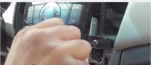 Get 2 screws down from the radio control panel