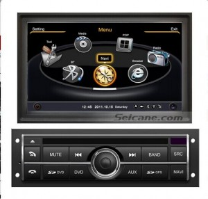 aftermarket car stereo GPS navigation system bluetooth of 2006-2013 Mitsubishi L200