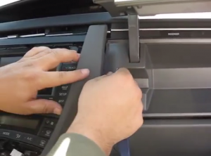 2009-2013 Toyota Prius radio installation step 2