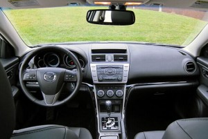 2008-2012 Mazda 6 dashboard