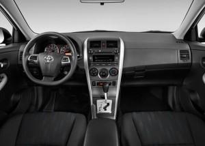 2012 Toyota COROLLA dashboard