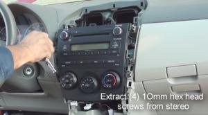 2012 Toyota Corolla Radio installation step 8