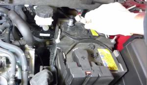 2013 2014 2015 Mazda CX-5 Radio installation step 1