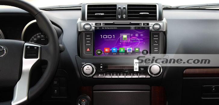 Aftermarket 2014 Toyota Prado Radio Installation Car