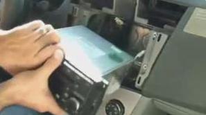 2007-2010 Chrysler Sebring car stereo installation step 4-1