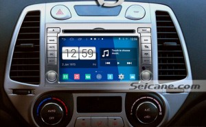 2009 Hyundai I20 Radio after installation