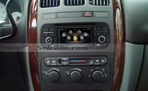 2011 Chevrolet Captiva aftermarket radio after installation