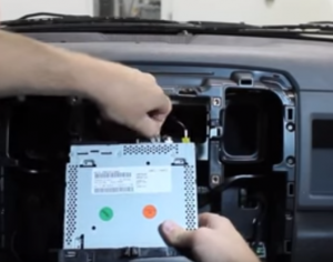 2013 2014 2015 DODGE RAM 1500 2500 3500 4500 car stereo installation step 7