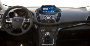 2013 Ford KUGA Radio after installation