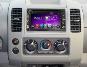 2004-2010 Nissan PATROL Radio after installation