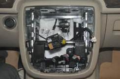 2005-2012 Mercedes-Benz ML CLASS W164 W166 radio installation step 6