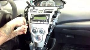 2006-2010 TOYOTA Camry Radio installation step 3