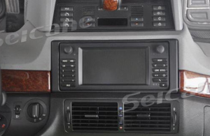 1996-2003 BMW 5 E39 car stereo installation step 1