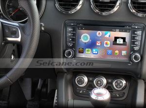 2006-2013 Audi TT car stereo after installation