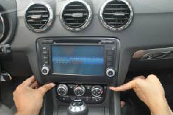 2006-2013 Audi TT car stereo installation step 6