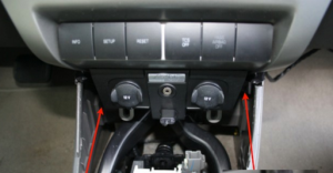 2008-2011 Ford Focus radio installation step 2