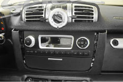 2011 2012 2013 2014 Mercedes Benz Smart head unit installation step 4