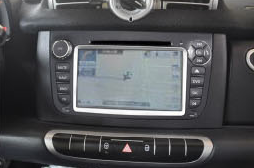 2011 2012 2013 2014 Mercedes Benz Smart head unit installation step 9