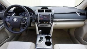 2012 2013 2014 Toyota CAMRY dashboard