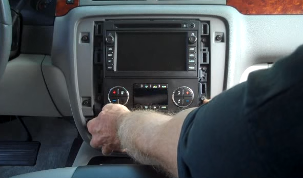how to replace a 2007-2012 chevy chevrolet tahoe head unit ... 2002 chevy cavalier headunit stereo audio radio wiring install