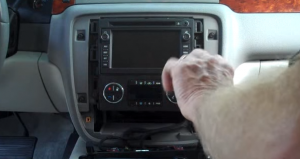 2007-2012 Chevy Chevrolet Tahoe head unit installation step 4-1