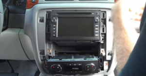 2007-2012 Chevy Chevrolet Tahoe head unit installation step 4-2