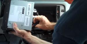 2007-2012 Chevy Chevrolet Tahoe head unit installation step 7