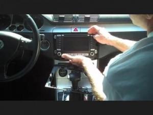 2008-2013 VW Volkswagen Passat CC radio installation step 3