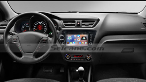 2011 2012 Kia K2 RIO  car stereo after installation