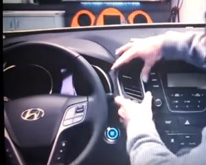 2013 2014 Hyundai Santa Fe ix45 radio installation step 2