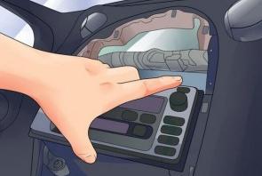 Chery A3 A5 Tiggo car stereo installation step 3