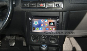 1998-2009 VW Volkswagen T4 car stereo after installation