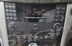2002-2008 Mercedes-Benz E-Class W211 head unit installation step 1