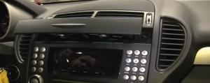 2004-2012 Mercedes-Benz SLK W171 R171 head unit installation step 15