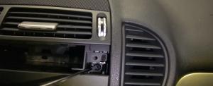 2004-2012 Mercedes-Benz SLK W171 R171 head unit installation step 18