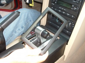 2005-2007 Ford 500 car stereo installation step 1