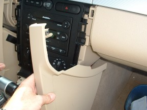 2005-2007 Ford 500 car stereo installation step 4