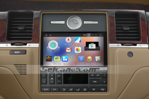 2005-2010 NISSAN TREEANO car stereo after installation
