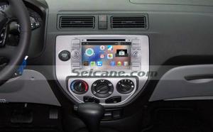 2005 Ford Fiesta Form radio after installation