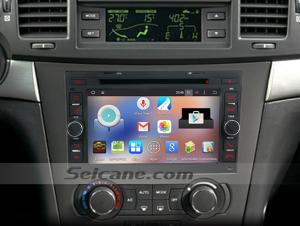 2007-2012 Matiz M250 car stereo after installation