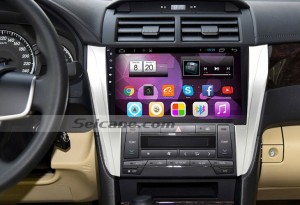2015 Toyota CAMRY car stereo after installtion