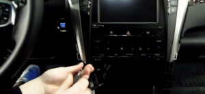 2015 Toyota CAMRY car stereo installation step 9