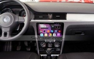 2013 2014 2015 VW Volkswagen BORA head unit after installation